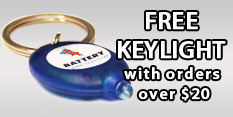 Free Keylight with Orders over 20$